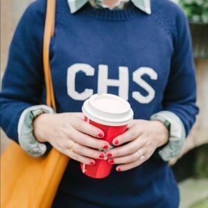 CHS 'Charleston' Navy Knit Sweater